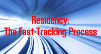 Fast Tracking in Residency