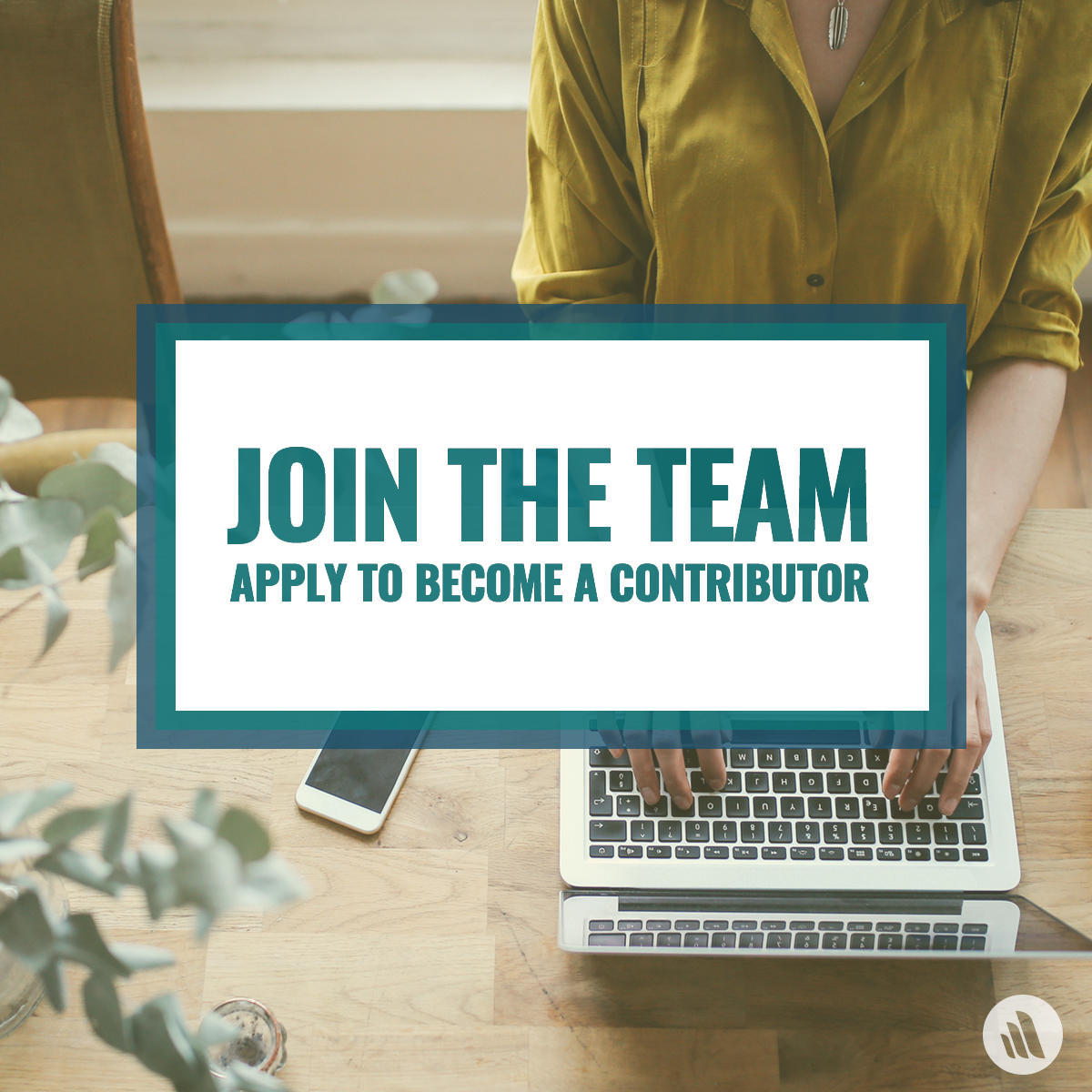 Join the team - Apply to become a contributor
