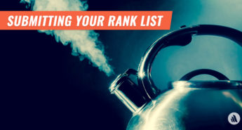 Submitting Your Rank List