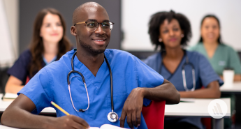 Medical Students in Classroom